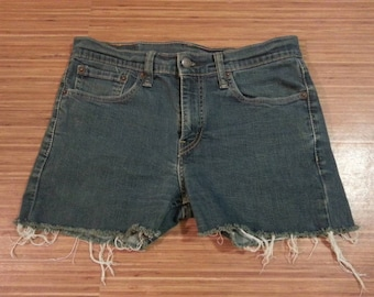 Levi Stauss Size 31 Cut Off Shorts