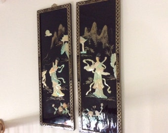 Asian Women Carved Pictures