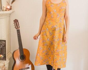 Floral Bohemian Vintage Dress