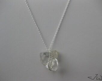 Clear Quartz Chain necklace