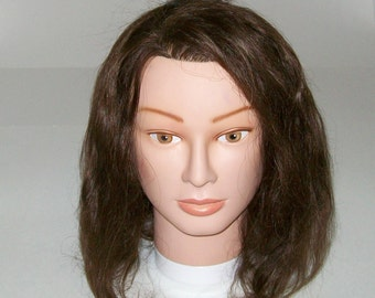 Long Hair Mannequin Head - Cosmetology - Hat Display - Hair Accessory Display