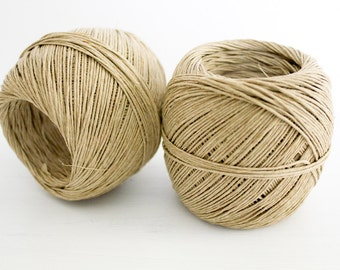Natural Hemp Twine - 400ft