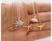 Dinosaur Necklaces /Minimalist Jewelry/ T-Rex Necklace