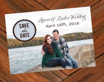 Save the Date Cards featuring your photograph