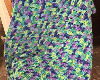 Hand made Crochet Afghan