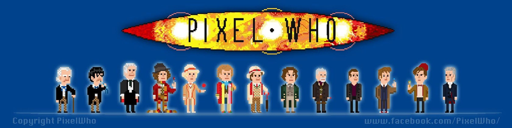 Doctor Who Themed Original Pixel Art By Pixelwho On Etsy