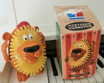 "RARE, 1967, Vintage Tupperware, ""EGGSTERS"", Mr. Potato Head-Like, Three in One, Plastic Toy, Original Box"
