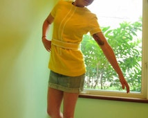 Vintage 60's Sunshine Tunic - Trends by Jerrie Lurie