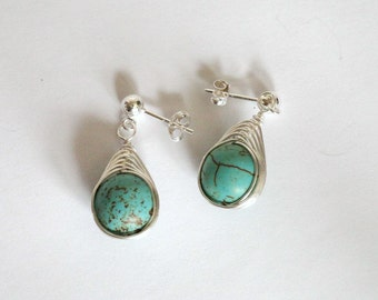 That's a Wrap Magnesite Earrings