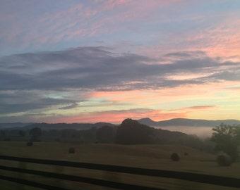Virgina Blue Ridge Sunset