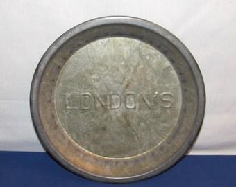 PIE TIN LONDON'S Vintage Tin