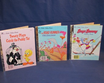Little Golden Books LOONEY TUNES Set of 3
