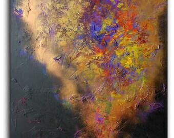 Abstract painting by Alex Senchenko . Contemporary ART . Modern , original , canvas , wall art , decor .