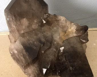 Smoky Quartz Crystal Cluster, Healing Crystals, Healing Stones, Spiritual Stone, Gemstone