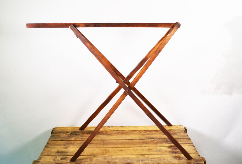 Primitive Quilt Stand Antique Quilt Rack Rustic Blanket