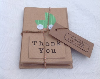 Handmade Baby Shower/Gift Thank You Card