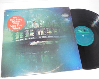 """RARE CBC Song Market feat. Kiss The Wind Canadian Radio Songwriting Competition 12"""" Vinyl Record LP"""