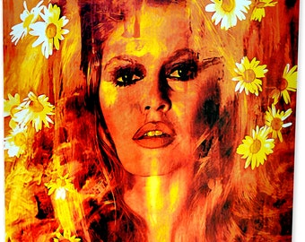 Bridget Bardot - Life Captured - HD Metal Art Print - Signed by famed Mark Lewis