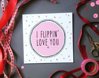 FLIPPIN SOPH  Cute Anniversary - Friendship, Love Card