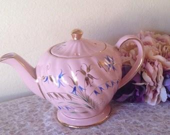 Gorgeous Hand Painted Pink Sadler Pot