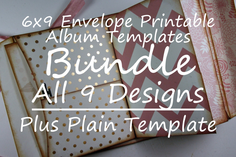 bundle 6x9 printable envelope templates 9 original patterns plus the plain template from. Black Bedroom Furniture Sets. Home Design Ideas