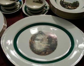 The Homer Laughlin China Company Platter