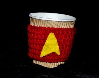 RED Star Trek Inspired Coffee Holder