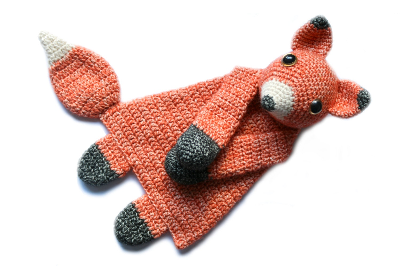 Fox Ragdoll crochet amigurumi pattern PDF INSTANT DOWNLOAD