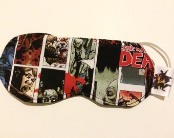 Walking Dead Zombie Panel Sleep Mask