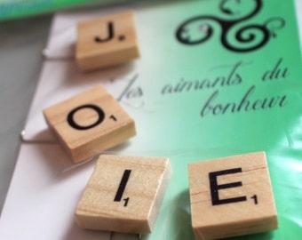 JOIE magnet for refrigerator Scrabble
