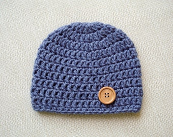 Newborn crochet hat Baby boy hat Newborn boy photo prop Crochet baby hats for Boys Newborn hat Boy Newborn baby boy beanie hat New born hat
