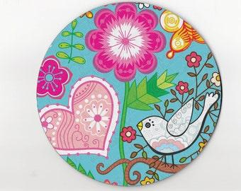 mouse pad / mousepad / bird mouse pad / bird mousepad