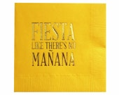 Cinco de Mayo Decorations - Cocktail Napkins - Fiesta - Set of 20