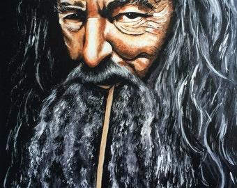 ART PRINT (A2) 'Gandalf'