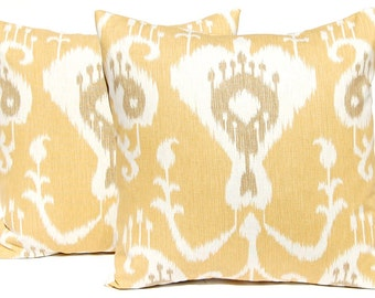 Magnolia Home Fashions Java Ikat  pillow cover, cushion, decorative throw pillow, decorative pillow, accent pillow, 18x18 pillow
