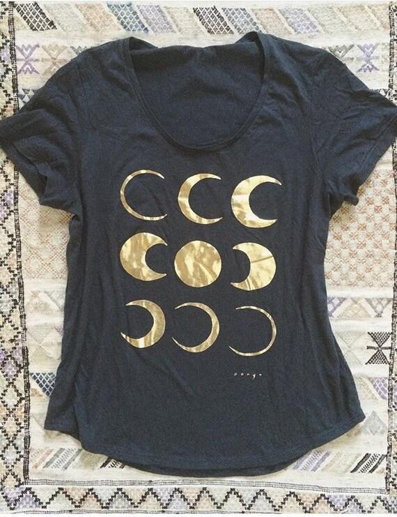 Gold Dust Moon Cycle Tee