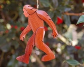BIGFOOT DADDY ORNAMENT.  Do you believe in Sasquatch?   A fun addition to your tree.  Check our listing for Bigfoot Mommy