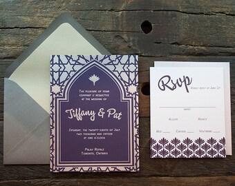 Tiffany Wedding Invitation Sample