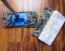 Reusable mop/duster sets Gray star