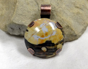 Custom Designed Flint Ridge Pendant