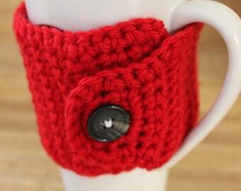 Crochet Coffee Cozy, Mug Cozy, Cup Cozy