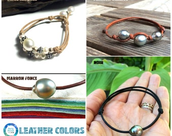Leather colors of your jewel