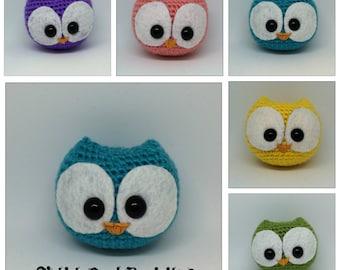 Amigurumi Chibi Owl