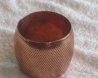 Vintage large copper bangle