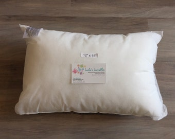 12x18 pillow insert/pillow stuffer to add to pillow cover purchase