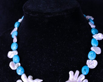 Pearls and turquoise 035
