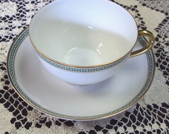Teacup and Saucer Bavaria JHW