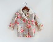 Woolen Floral Coat