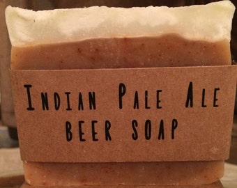 IPA Beer Soap - Great Father's Day Gift! - Handmade, all natural, vegan friendly, cold process soap