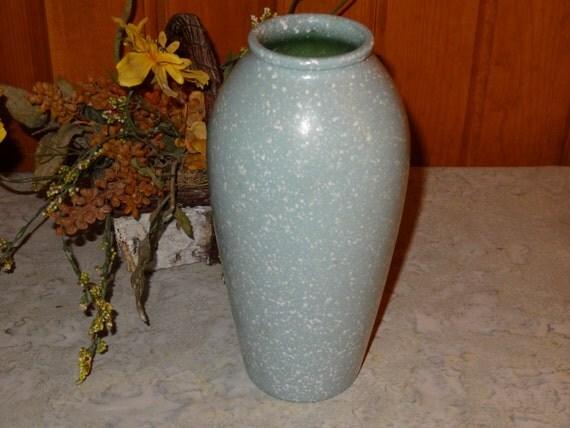 Studio Nova Mint Green Splatter Vase Green Vase